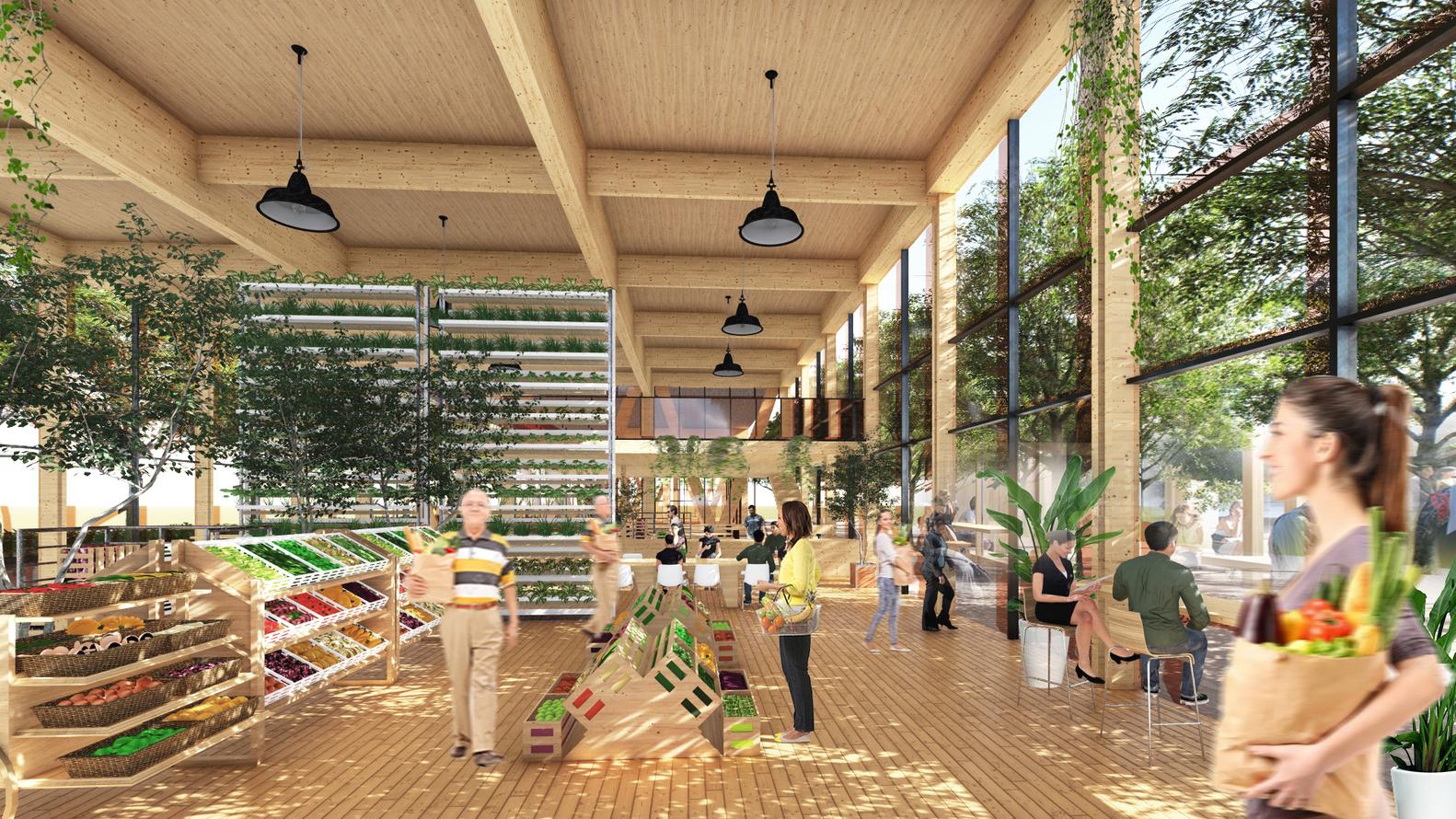 Núcleos urbanos donde todos los servicios estén a 15 minutos./Guallart Architects